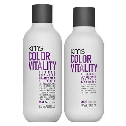 KMS Color Vitality Blond Shampoo & Condtioner